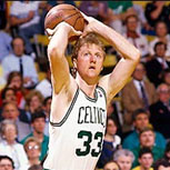 Larry Bird, la leyenda de los Boston Celtics