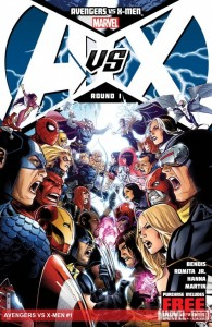 El evento Marvel 2012: Los Vengadores vs X-Men
